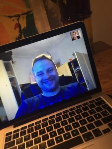 Skypeinterview med basketballdommer